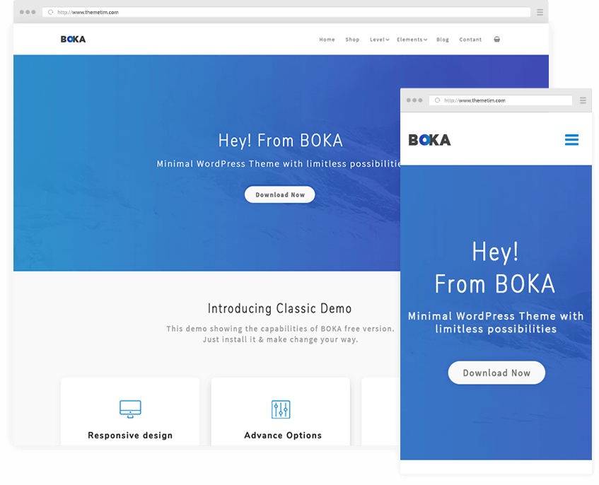 BOKA | Minimal Multipurpose WordPress Theme | ThemeTim