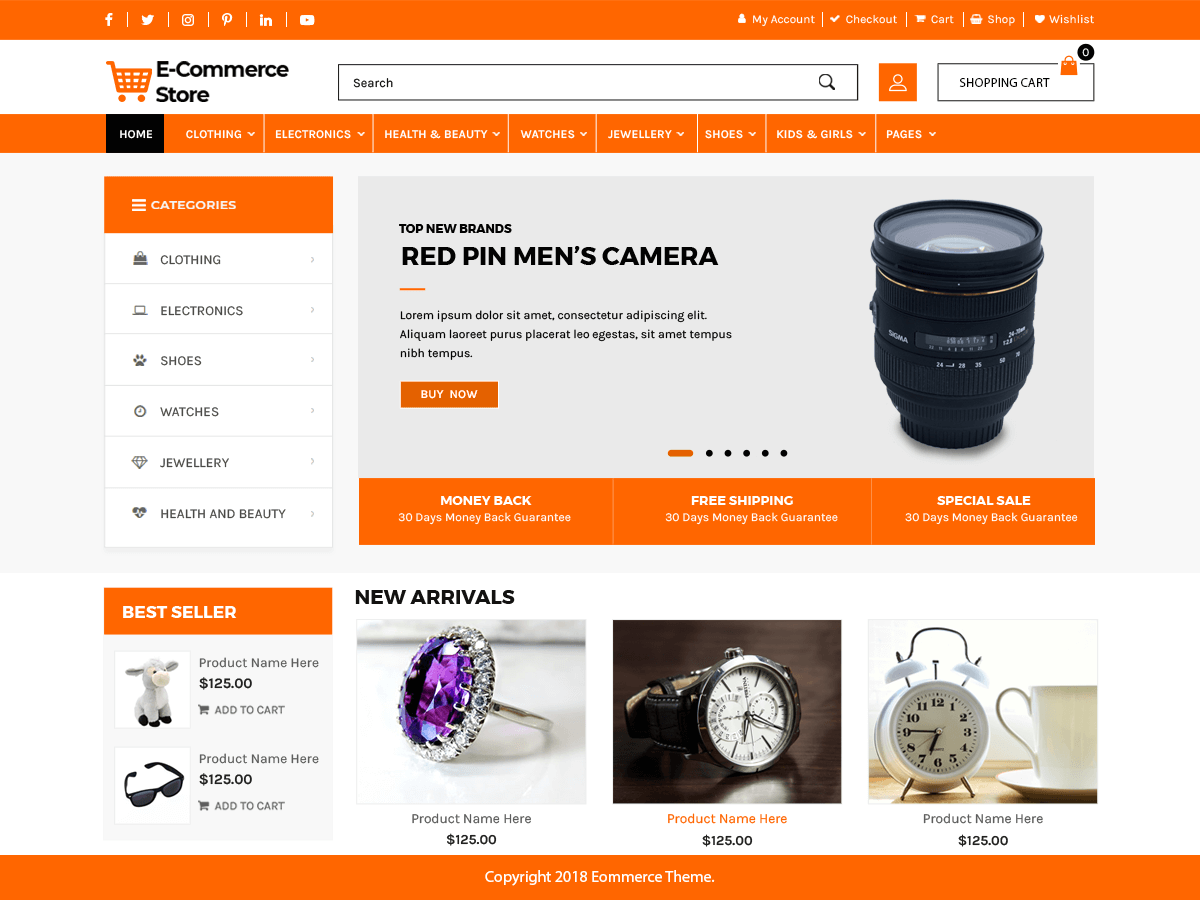 35+ Best free woocommerce themes 2019 -Themetim