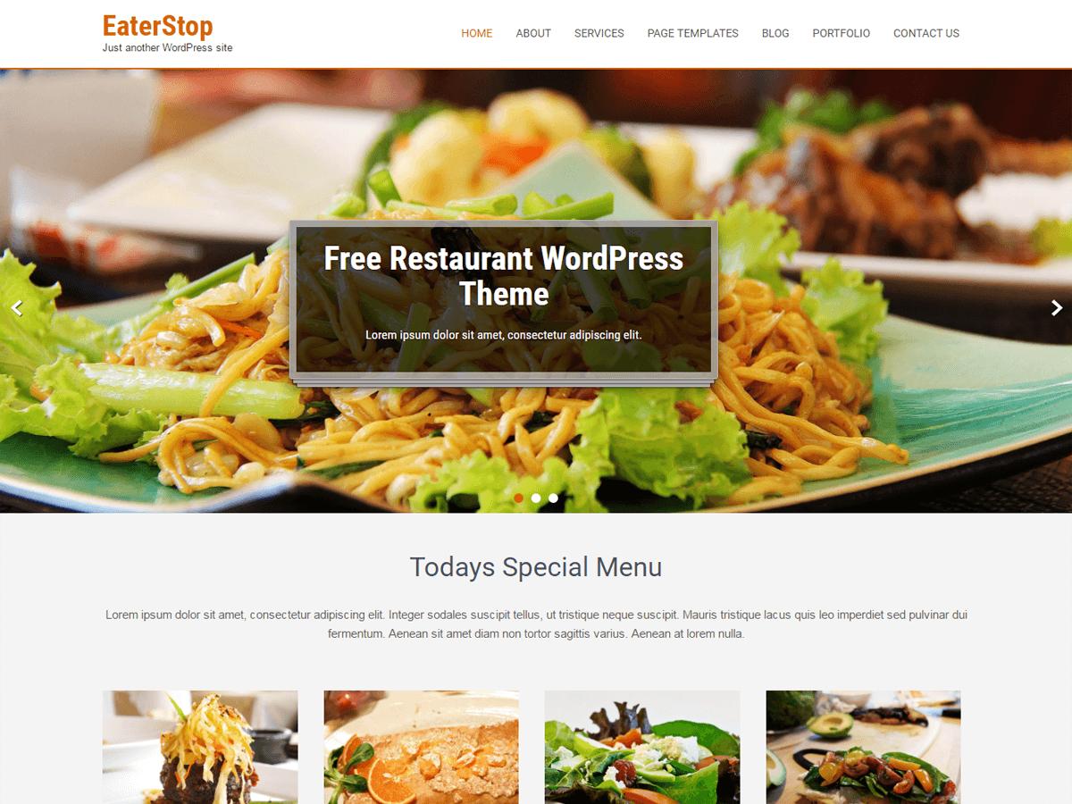10+ Best Free WordPress Restaurant themes 2020 - Themetim