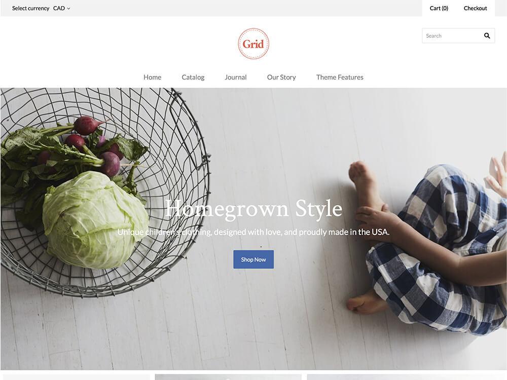 23+ Premium Shopify Themes for Trendy Online Store 2019 - Themetim
