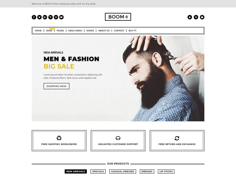 17+ Unique Best shopify Fashion Themes for Trendy Fashion